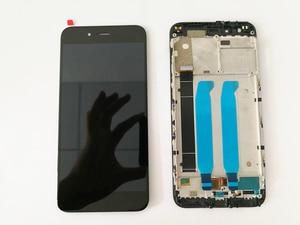 Image 3 - Jakość AAA LCD + ramka do wyświetlacza LCD XiaoMi Mi A1 do montażu LCD XiaoMi 5X/A1 (obsługa 10 dotyku i podświetlenia)