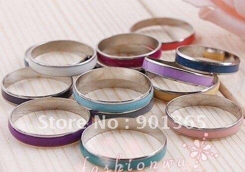 Oil Drop Copper Thin Ring 100pcs/lot