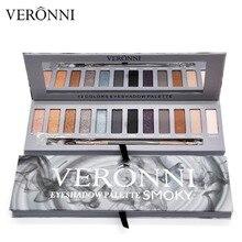VERONNI Brand Make up Eye Ultimate Basics Shadow Palette 12 Color NK Eyeshadow Smoky eye shadow