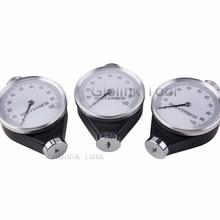 Профессиональный Shore тип A Измеритель Твердости Резины измеритель шины дюрометр A/O/D измерительный инструмент высокое качество