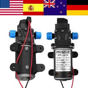 Image 1 - DC 12V 100W diyaframlı su pompası küçük güvenli yüksek basınçlı kendinden emişli pompa yüksek kaliteli 160PSI 8Lpm pompa yapmak wody mini pompa