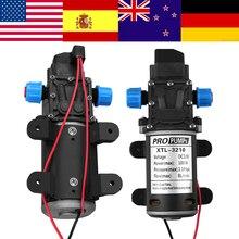 Pompe à eau à diaphragme DC 12V 100W petite pompe auto amorçante haute pression sûre haute qualité 160PSI 8Lpm pompa do wody mini pompe