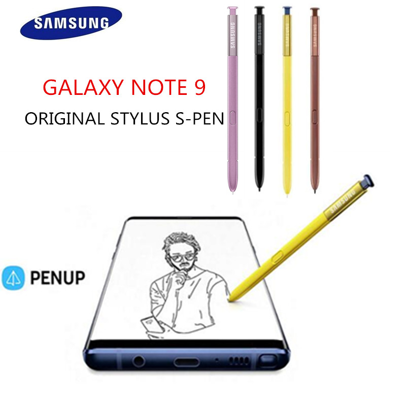 Original Samsung Galaxy Note 9 Touch S Pen Stylus EJ PN960BVEGUS Replacement SM N960 Bluetooth Multi