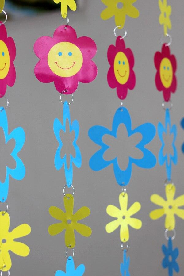 Cizgi filmi Uşaq otağı Dekorativ plastik pərdələr Daxili ev - Ev dekoru - Fotoqrafiya 3