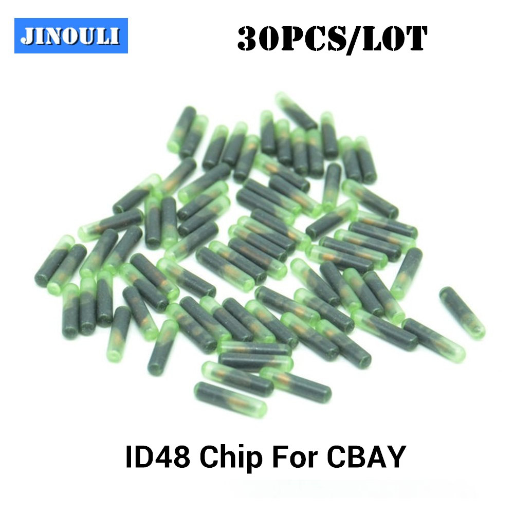 30PCS LOT JMD48 Chip For Handy Baby ID48 JMD 48 Copy Transponder Chip Rewritable Chip