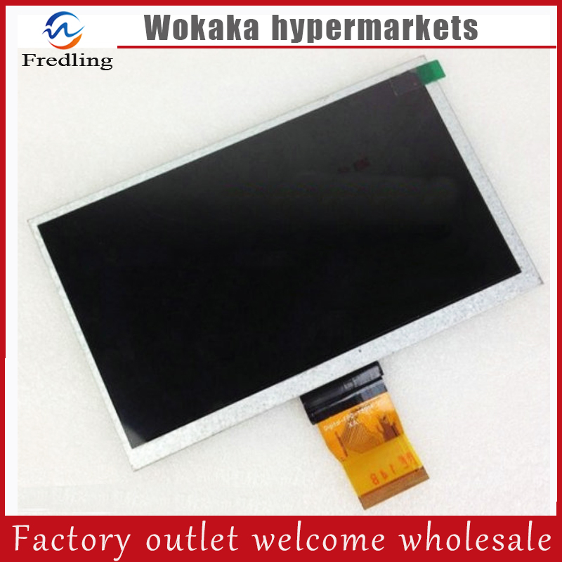 New LCD Display Matrix 7 Prestigio Multipad 7.0 Ultra+ PMP3570C Tablet 800x480 TFT LCD Screen panel Replacement Free Shipping new prestigio multipad pmt3008