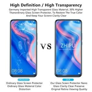 "Image 5 - 2 Pcs מזג זכוכית עבור Huawei P חכם Z מסך מגן 2.5D 9 שעתי מזג זכוכית עבור Huawei P חכם Z מגן סרט 6.59 ""*"