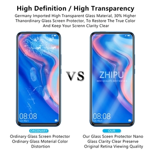 """Image 5 - 2 Pcs Tempered Glass For Huawei P Smart Z Screen Protector 2.5D 9H Tempered Glass For Huawei P Smart Z Protective Film 6.59"""" *"""