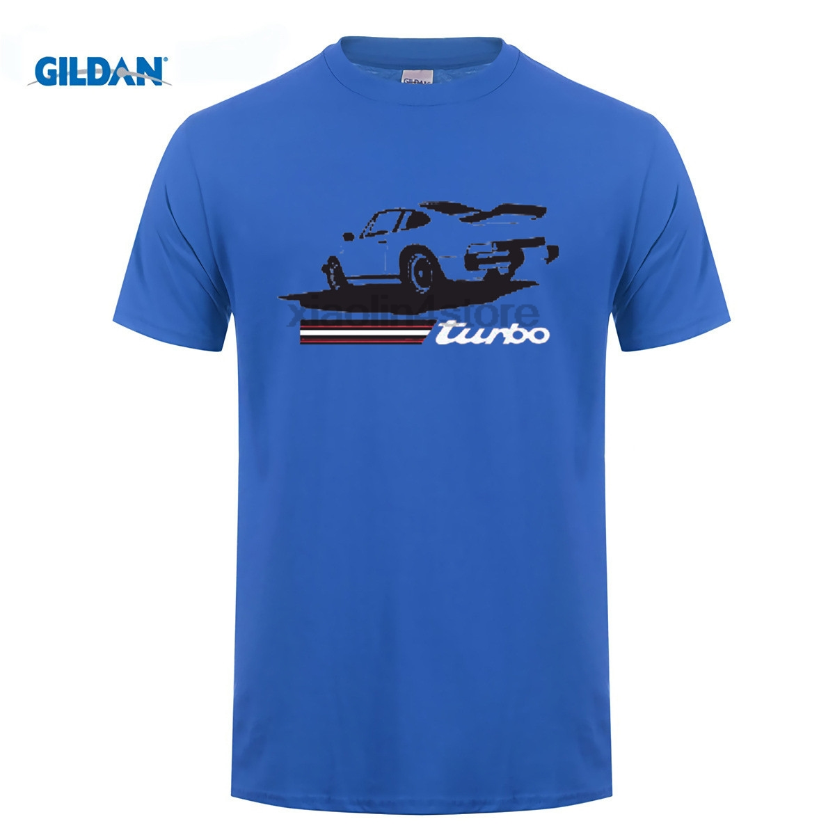 GILDAN DIY style mens t shirts Newest Letter Print Short Sleeve T Shirt Men 911 Turbo Old School Retro Car Cheap T Shirt Design