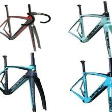 Fasterway XR4, производство Тайвань, карбоновая рама, дорожный велосипед T1100 UD, набор углеродных велосипедов: карбоновая рама+ подседельный штырь+ вилка+ зажим+ гарнитура