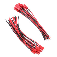 New 10 Pairs 150mm Connector JST Plug Line Cable Male Female For RC BEC Lipo Battery
