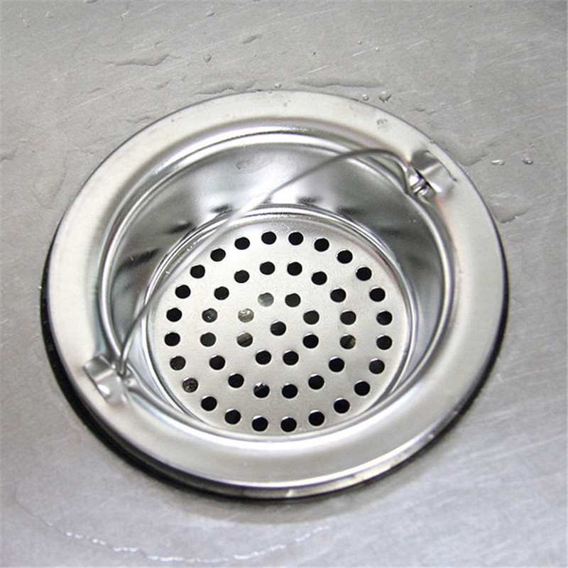1pc Kitchen Outfall Water Tank Strainer Sink