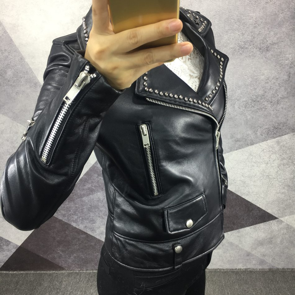 genuine leather jacket ladies (3)