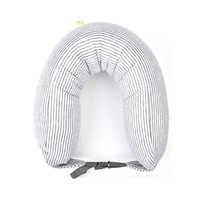 Travel U Shaped Portable Pillow Inflatable Neck Car Head Rest Air Cushion for Travel Office Head Rest Air Cushion Pillow