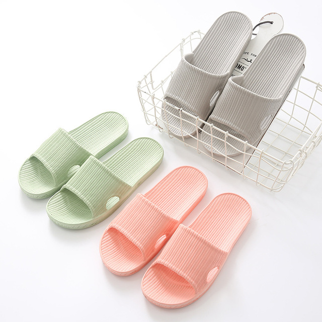 Home Slippers Lovers New Indoor Slippers for Men and Women In Bathroom Sandals Wholesale IndoorChristmas Gift