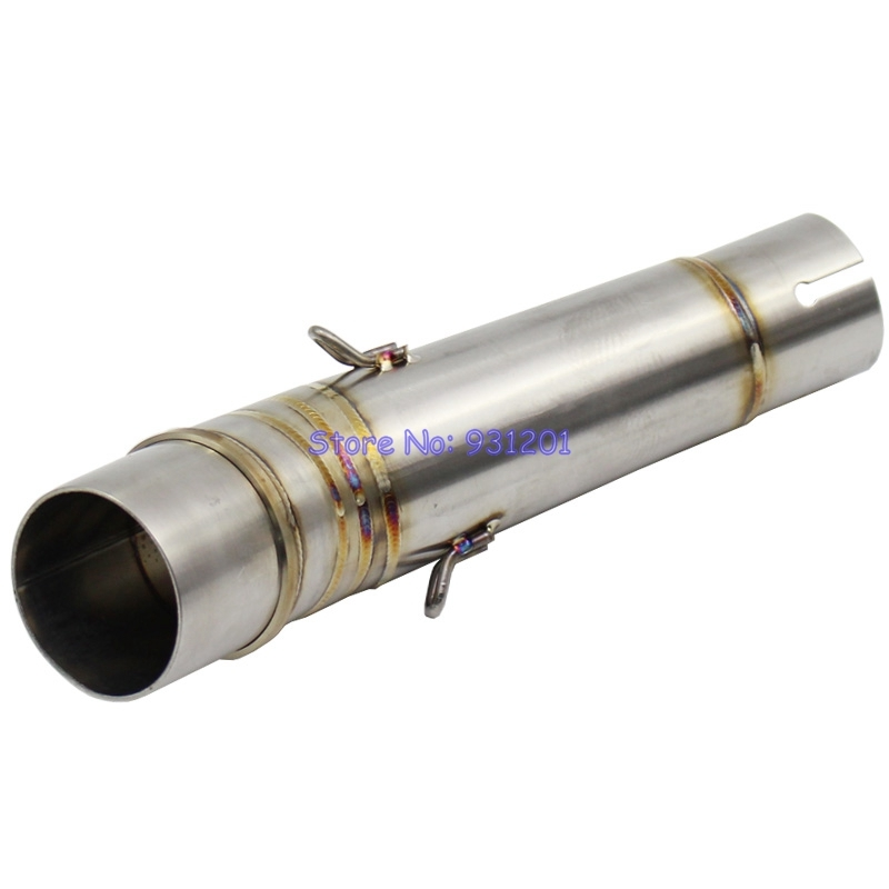 Exhaust-Middle-Pipe Slip-On Motorcycle NC750X NC700 for Nc750/Nc750x/Nc750s/Connect Down-Pipe