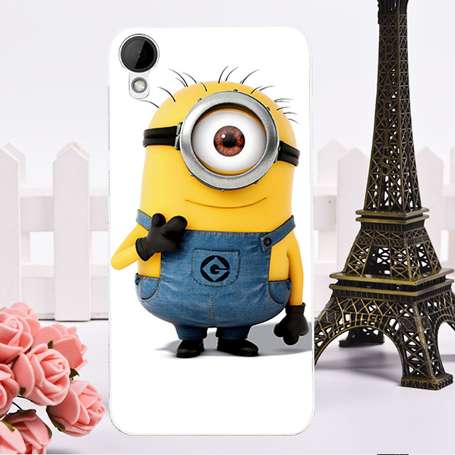 Custom Despicable Me Hard Shell Plastic Covers for HTC Desire 825