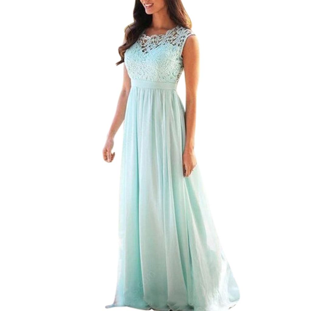 Women Lace Applique Elegant Coral Wedding Guest Dress ...