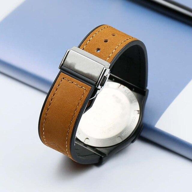 Men's Watch Belt for Hublot Anti-Sweat Waterproof Folding Buckle 19mmx 25mm Women's Rubber Watch Accessories band 3