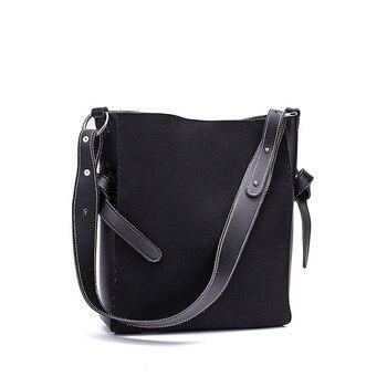 e23db8be1168 Замшевые женские зимние сумки на плечо женская сумка и кошелек из нубука женские  сумки-мессенджеры