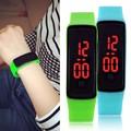Reloj Mujer Сенсорный Экран LED Watch Ультра Тонкий Мужчины Спортивные цифровой СВЕТОДИОДНЫЙ Наручные Часы Женщин Мужские Reloj Hombre Montre Femme часы