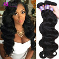 Malaysian Body Wave 2 Bundles 7A Unprocessed Virgin Hair Body Wave Natural Color 8-28Allove Hair Malaysian Virgin Hair Body Wave