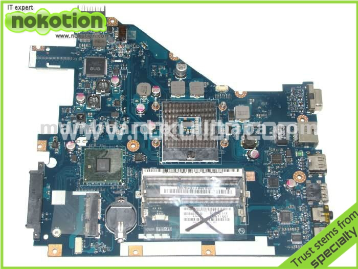 NOKOTION laptop motherboard for ACER 5742 NV55C LA-6582P INTEL HM55 INTEGRATED GMA HD DDR3 Mainboard nokotion laptop motherboard for lenovo g570 la 675ap mainboard intel hp65 ddr3 socket pga989