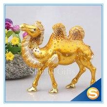 Handmade Craft Camel Shaped Trinket Jewelry Box Big Camel Statue Business Gifts