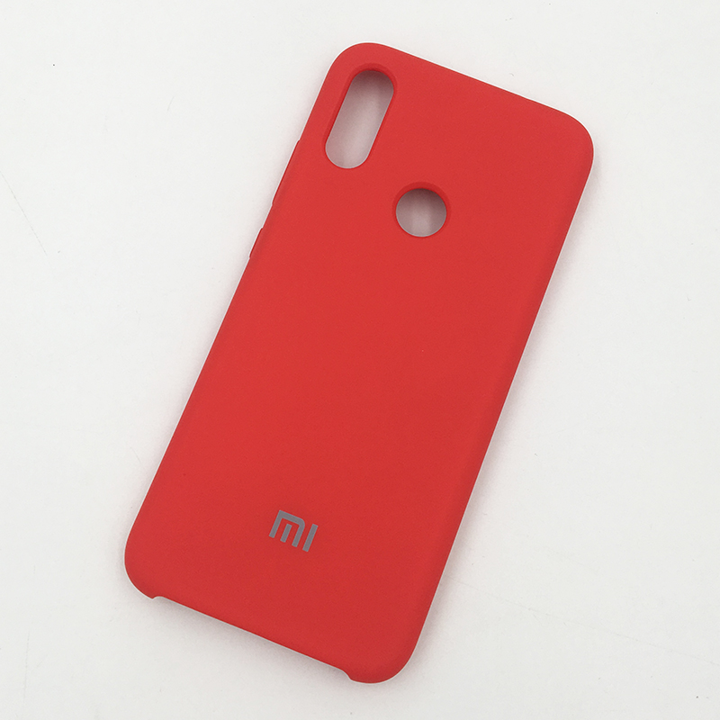 Image 3 - 100% Original Xiaomi Redmi Note 7 Pro Case Liquid Silicone Silky Soft Touch Coque Case Protective Back Cover For Red mi note 7-in Fitted Cases from Cellphones & Telecommunications