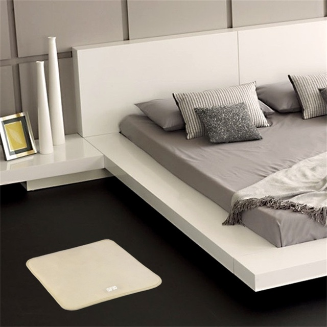 Pressure Sensitive Smart Alarm Clock Electronic Digital Clock Carpet ...