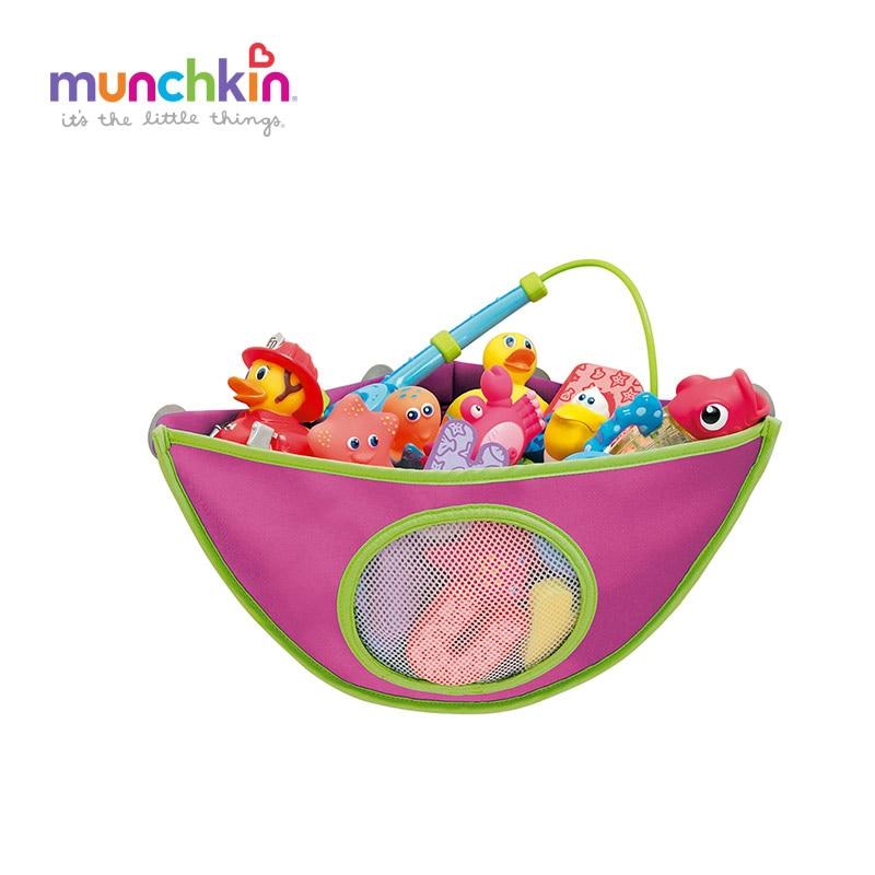 Munchkin Corner baby Bath Toys Organizer Colors Random Send Children ...