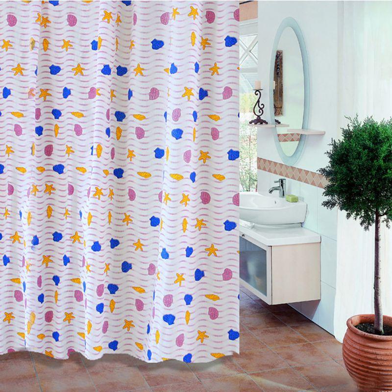 Łazienka Zasłony prysznicowe Wodoodporna powłoka PEVA Pleśni - Artykuły gospodarstwa domowego - Zdjęcie 2