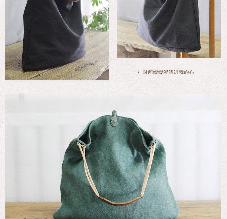 linen handbags