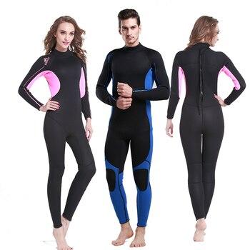da148ea9ae08 Chaquetas y pantalones de buceo Flocado de cuerpo completo para hombre,  traje de baño para buceo de ...