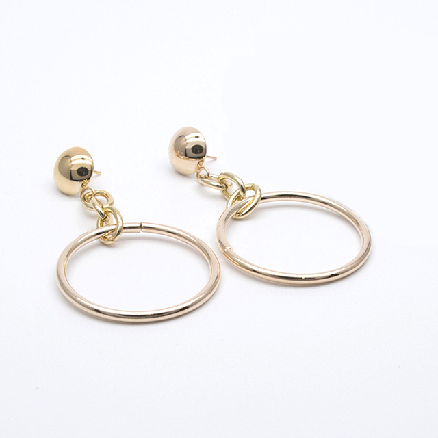 New fashion jewelry accessories Bohemia  big hollow Circle design dangle earring best gift for lover's girl wholesale E350