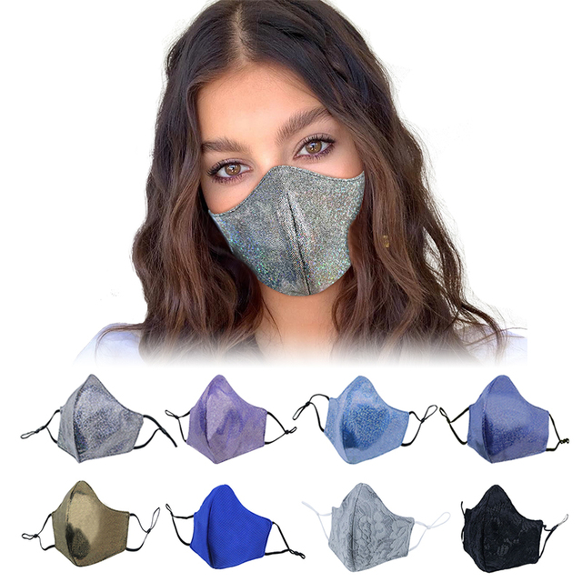 GLORSUN fashion folding fine PM 2.5 cotton allergy flu dust proof mask mouth fashion sport breathing summer carbon filter mask