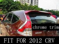 Chrome tail rear light cover trim trims fit for 2012 honda CRV CR V 12+