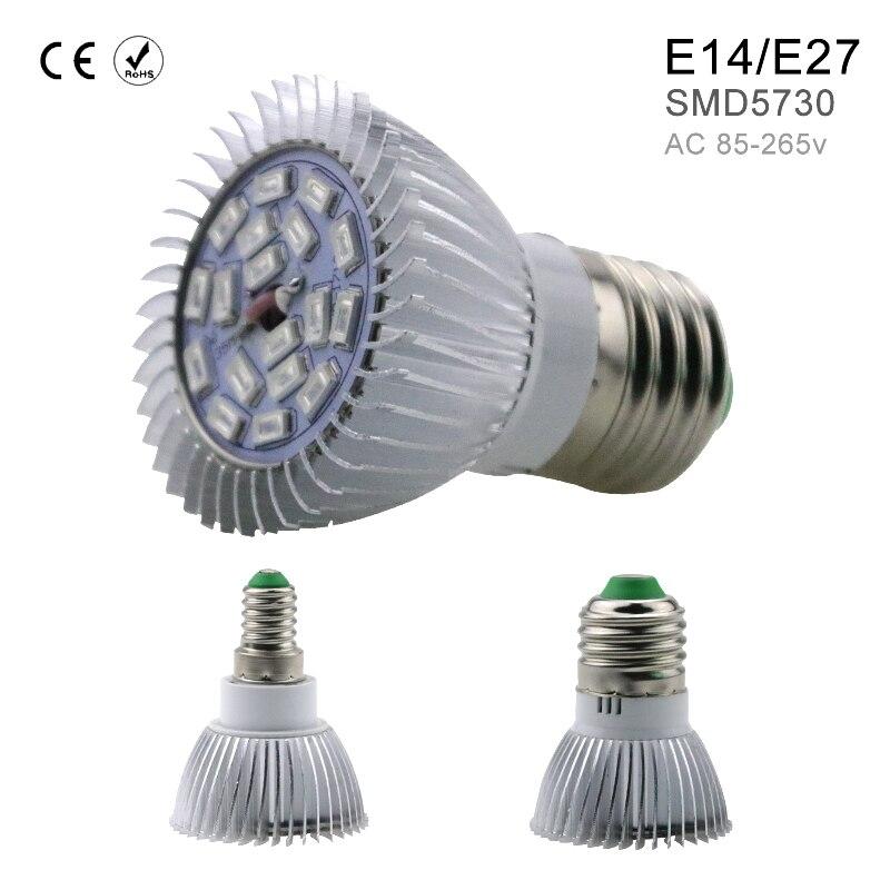 Full Spectrum LED Grow Light AC85-265V SMD5730 Indoor Plants Lamp For Flower Seedling Hydroponics System Tent Vegetables Growing