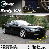 For Mazda MX 6 MX6 MX 6 Mystere Bumper Lip / Front Spoiler Deflector For Friends to Car Tuning / Body Kit / Strip Skirt