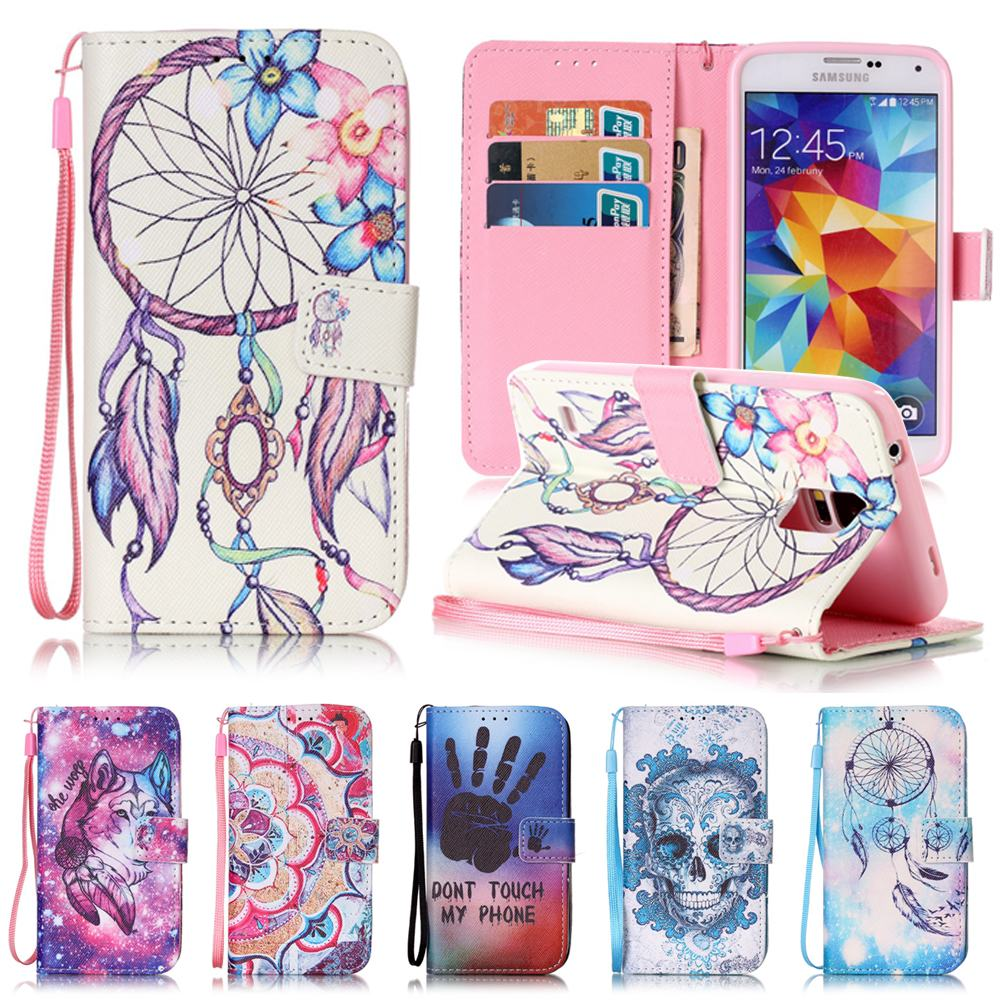 for coque samsung galaxy s5 case flip leather wallet silicone cover samsung galaxy s5 neo case. Black Bedroom Furniture Sets. Home Design Ideas