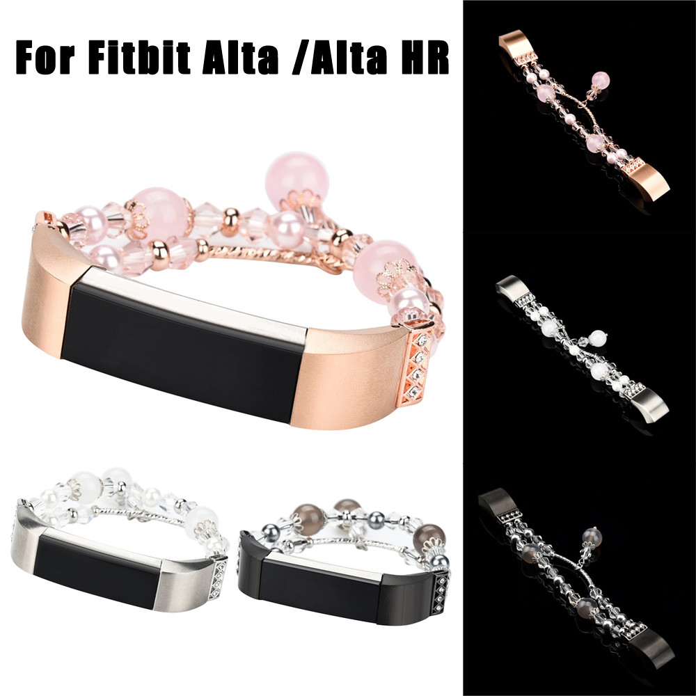 HIPERDEAL Frauen Metall Armband Ersatz Armband Handgelenk Band Strap Verschluss für Fitbit Alta/Alta HR 15J Drop Verschiffen