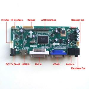 "Image 2 - For HT185WX1 100/500/501 M.NT68676 display controller drive card CCFL LVDS 30Pin 18.5"" 1366*768 LCD panel HDMI+VGA+DVI DIY kit"