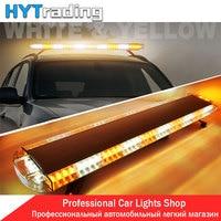 Car Light Styling 47 88 LED Work Lights Emergency Recovery Beacon Wrecker Flashing Strobe Light Bar Amber 12V/24V 88W Fog