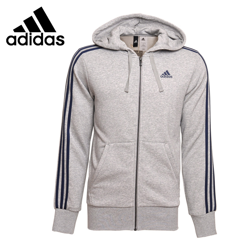 Original New Arrival 2017 Adidas ESS 3S FZ FT Men's jacket Hooded Sportswear толстовка ess hooded jacket tr