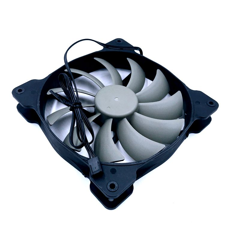 Image 5 - A1425L12S 2 140mm fan quiet cooling fan 140*140*25mm DC12V 0.30A(Rated Current 0.18A) computer case cooling fan 870RPMFans & Cooling   -