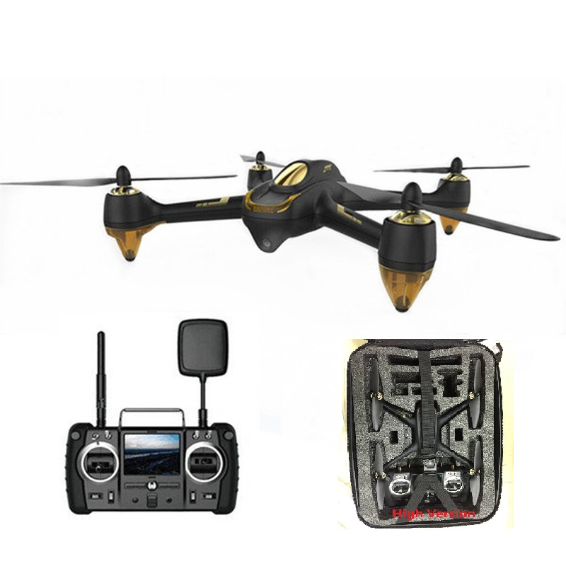 Hubsan H501S X4 5.8G FPV 10CH Brushless with 1080P HD Camera GPS RC Quadcopter Advanced High Luxury Version With backpack
