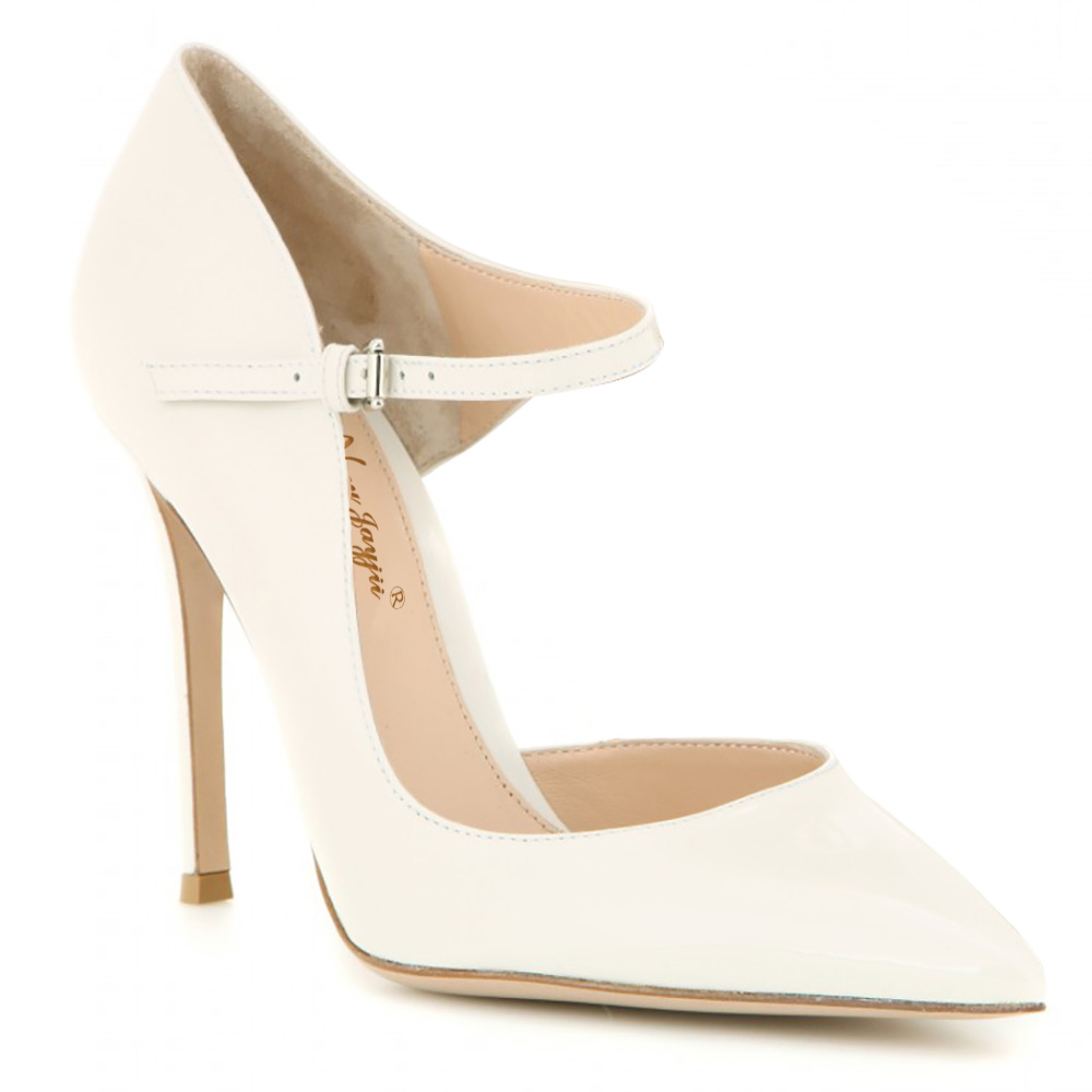 Tacon 16 Noir La Pleather Haute Point 4 Chaussures Pour Zapatos Pompes Cheville Talons Bracelet Femmes Plus Mujer Femme Ty01 Toe Et ty02 Blanc Taille aqwUd1U
