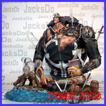 MODEL FANS jacksdo One Piece 28cm battle damage Bartholemew KUMA gk resin figure toy for Collection Handicrafts
