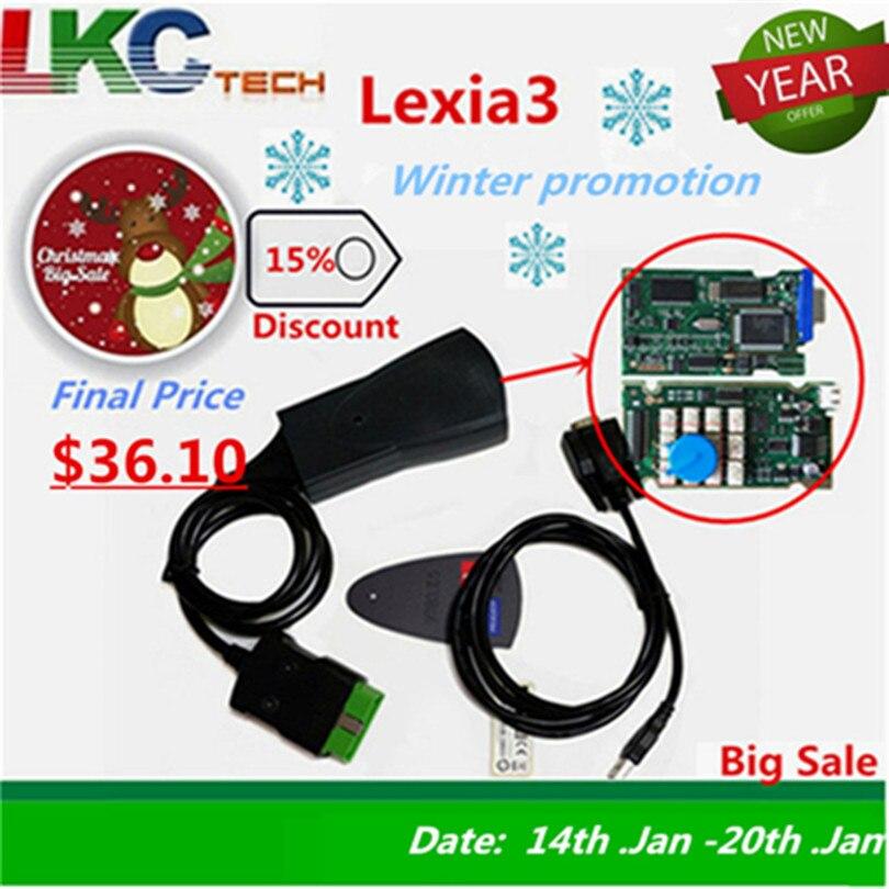 Lexia3 PP2000 Lite Diagbox V7.83 PSA XS эволюция для Ci-troen/для Pe-u LEXIA-3 FW 921815C Lexia 3