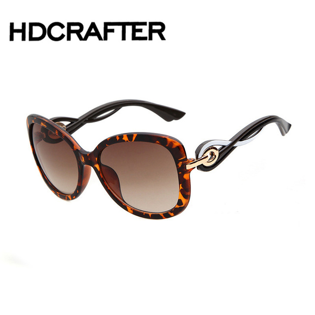 High Quality Butterfly Sunglasses Women Designer Vintage Driving Sun Glasses Female UV400